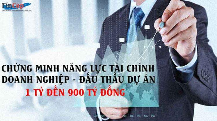 Dịch vụ chứng minh tài chính doanh nghiệp