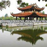 Dịch vụ chứng minh tài chính tại Bắc Ninh