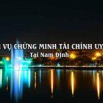 Dịch vụ chứng minh tài chính tại Nam Định tin cậy