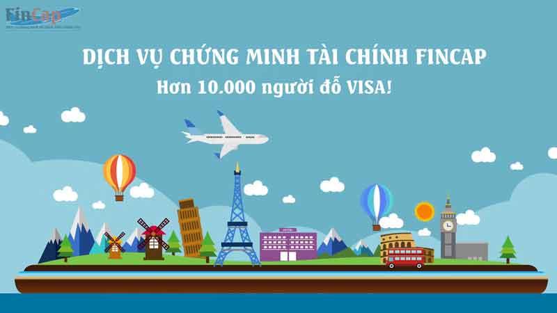 Dịch vụ chứng minh tài chính Visa FinCap Uy tín - Giá rẻ